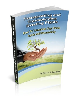 Transporting and Transplanting Existing Plants